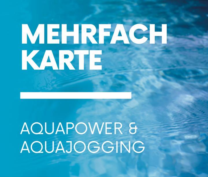 Mehrfachkarte Aqua
